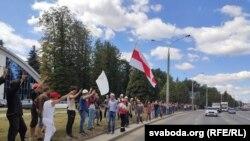"Belarusda ""Minsk Dünyasını"" kompleksində çalışanlar tətil edir"