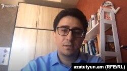 Представитель Армении в ЕСПЧ Егише Киракосян, 26 мая 2020 г.