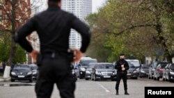 Чеченский спецназ в Грозном, 25 апреля 2013
