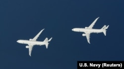 Two P-8A Poseidon aircraft (file photo)
