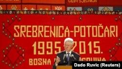 Srebrenitsa mərasimində keçmiş prezident Bill Clinton çıxış edib.