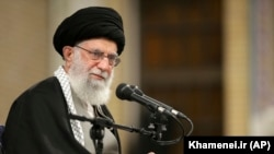 """Iranian Supreme Leader Ayatollah Ali Khamenei described the missile attack on U.S. bases in Iraq as as a """"slap in the face"""" for Washington."""