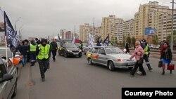 Корбан бәйрәменә багышлап автойөреш уздыручы мөселман активистларын полиция тоткарлады