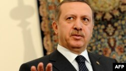 """If necessary, I will tell them, 'Come on, back to your country',"" says Turkish Prime Minister Recep Tayyip Erdogan."