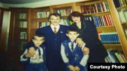 Фота зь сямейнага архіву Мустафы Джэмілева
