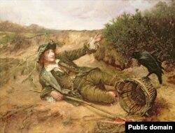 Эдгар Банды, «Адкінуты на ўзбочыну» (1886)