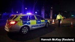 Поліція на місці напад біля Букінгемського палацу в Лондоні, Велика Британія, 25 серпня 2017 року
