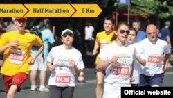 Macedonia - Skopje marathon 2013, poster - N/A