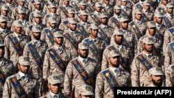 Defilarea militarilor din Garda Revoluției, Iran