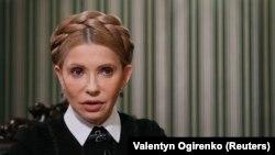 Лидер партии «Батькивщина» Юлия Тимошенко.