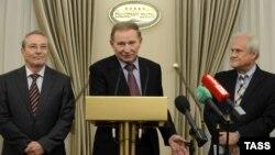 Учасники переговорів у Мінську, архівне фото
