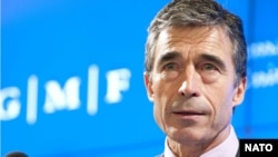 NATO Secretary-General Anders Fogh Rasmussen said NATO would strive for global supremacy unmatched by anyone else and remain the preeminent forum for political consultations between the United States and its European allies.