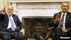 باراک اوباما و حیدر العبادی (عکس از آرشیو)