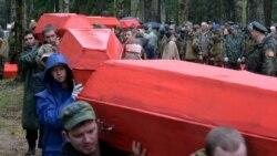 Russians Dig Deep For Their War Dead