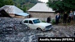 Стихийное бедствие в Габале