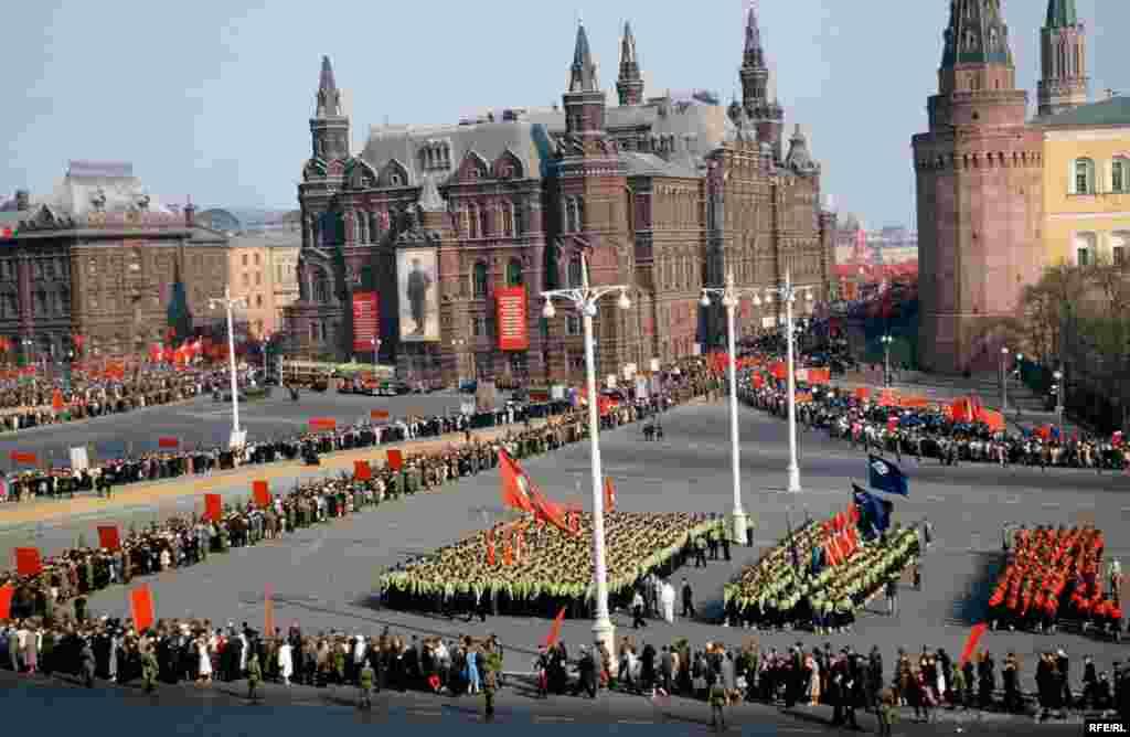 Праздник на Манежной площади, Москва