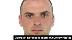Один из погибших грузинских военных в Афганистане