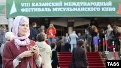 7-халықаралық мұсылман киносы байқауына келгендер. Қазан, 6 қазан 2012 жыл. (Көрнекі сурет)