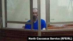 Аслан Яндиев в Северо-Кавказском военном окружном суде, Ростов-на-Дону, 5 июля 2019 года