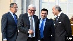Міністри закордонних справ країн «нормандської четвірки»