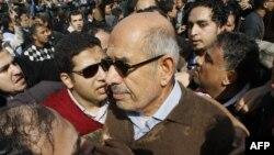 Мухаммед Эль-Барадей, Каир, 28 января 2011