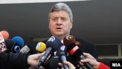 Presidenti i Maqedonisë Gjorge Ivanov