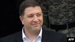 Грузия оппозициясы жетекшілерінің бірі, Тбилисидің бұрынғы мэрі Гиги Угулава.