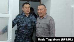 Подсудимый 68-летний Болатхан Жунусов в зале судебного заседания по делу об «участии в деятельности запрещенного судом объединения». Талдыкорган, 16 сентября 2019 года.