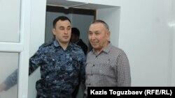 Болатхан Жунусов, обвиняемый в «участии» в деятельности запрещенногов Казахстане движения «Демократический выбор Казахстана». Талдыкорган, 16 сентября 2019 года.