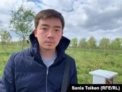 Әлімжан Ізбасаров әскерге шақырту алған сәт. 2019 жылдың мамыры.