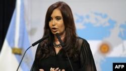 Argenrina prezidenti Cristina Fernandez
