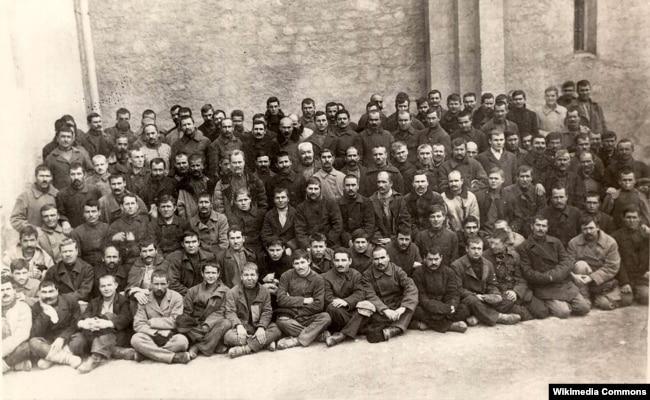 Осуждённые на каторжные работы участники Татарбунарского мятежа 1924 года