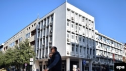 The state prosecutor's offices in Podgorica (file photo)