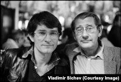 Хельмут Ньютон и Владимир Сычев