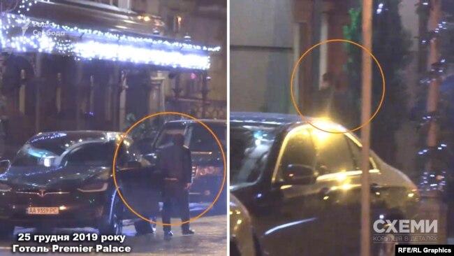 «Схеми» помітили, як водій Богдана зайшов до готелю Premier Palace