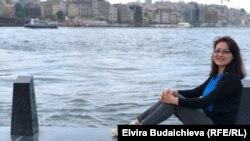 Жаңылбүбү Маматова, Стамбул университетинин докторанты.