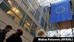 Govoreći o reformama u BiH, ta je riječ veoma često zloupotrijebljena: Moore (na slici: unutrašnjost zgrade Delegacije EU u BiH, Sarajevo)