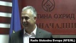 Охридскиот градоначалник Александар Петрески.