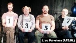 """Читка пьесы Олега Сенцова """"Номера"""" в Театре.doc"""
