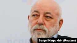 Russian billionaire Viktor Vekselberg (file photo)