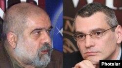 Эксперты по международным отношениям Александр Искандарян (слева) и Ричард Киракосян