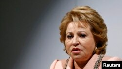 "Valentina Matviyenko: ""A happy person will not strive to become a terrorist."""