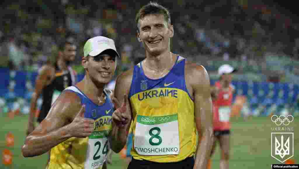 Украинский спортсмен Павел Тимощенко, который соревновался в современном пятиборье, стал серебряным призером Олимпийских игр