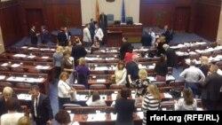 Втора ратификација на Договорот со Грција во Собрание