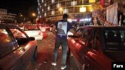 هواداران نامزدهای انتخابات ریاست جمهوری در واپسین فرصت قانونی تبلیغات در نیمه شب چهارشنبه، به خیابانها رفتند