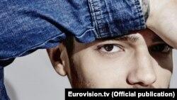 Azerbaijan. Baku. Singer Elnur Huseynov photo Eurovision.tv