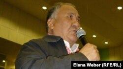 Активист из Караганды Айткожа Фазылов.