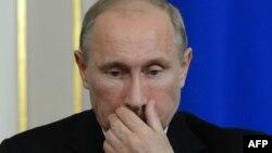 რუსეთის პრეზიდენტი ვლადიმირ პუტინი