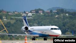 """""""ЮВТ-Аэро""""ның CRJ200 очкычы"""