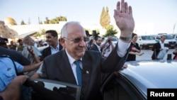 Израильдің жаңадан сайланған президенті Реувен Ривлин. Иерусалим, 10 маусым 2014 жыл.